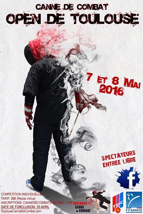 Affiche open de toulouse 2016